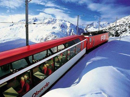 Glacier Express: Scenic Ride Through Alps – Switzerland