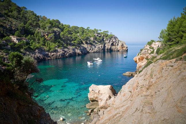 Puerto de Soller Hiking Holiday Mallorca Spain