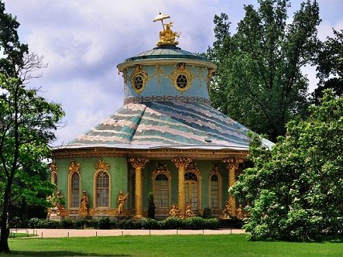 The Gardens Of Sans Souci